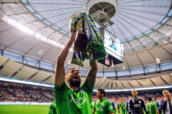 Clint Dempsey Cascadia Cup