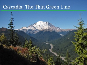 cascadia thin green line