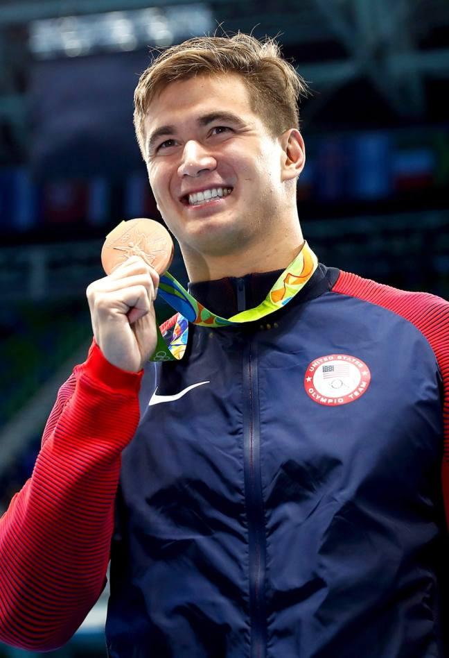 nathan adrian bronze medal, rio 2016