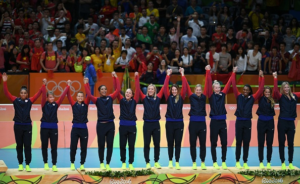 kimberly hill, courtney thompson, team usa indoor volleyball, rio 2016