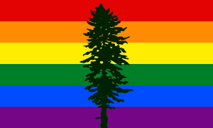 Gay Flag_Cascadia